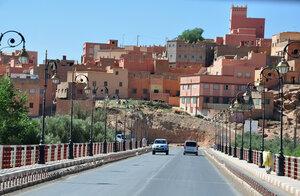 Какой-то городок на юге Марокко